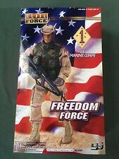 "Blue Box BBI 1/6 scale 12"" Elite Force Persian Gulf USMC Marine Freedom Force A"