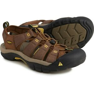 NIB Keen Newport Brown Water Sandal Men's Size 10M EUR 43