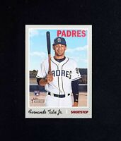 2019 Topps Heritage High Number FERNANDO TATIS JR ROOKIE RC #517 HN Padres QTY