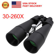 US Waterproof Night Vision 30-260x HD Coated Optic Telescope Binoculars Sports