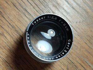 Carl Zeiss Jena Tessar 80 mm F/2.8 1938 lensblock