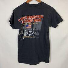 Rare Vtg 80s Bruce Springsteen E Street Band '84 - '85 World Tour T Shirt