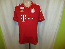 """FC Bayern München Adidas Triple Heim Trikot 2012/13 """"- T---"""" Gr.S- M TOP"""