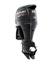 "Suzuki 115hp DF115ATL Outboard, EFI, 4-stroke, 20"" Shaft - Electric - Remote"