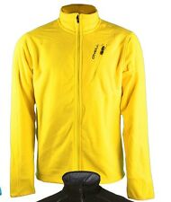 O'NEILL Mens Pure Yellow Full Zip Fleece Jacket Sweater XL Extra Large BNWT