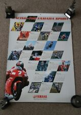 Racing the Yamaha spirit 2003 calendar unused.