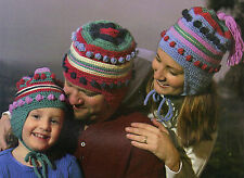 FUN Helmet Hat Wardrobe/Apparel/Crochet Pattern INSTRUCTIONS ONLY