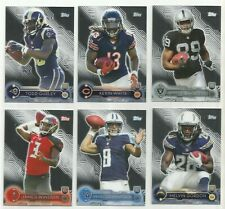 Set Of 6 – 2015 Topps Mega Box Chrome Football Cards