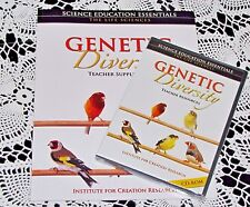 Genetic Diversity CD-ROM & Book Institute for Creation Research Life Science Lot