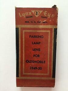 1949-1950 Oldsmobile Lynx Eye Parking Lamp Lens, PL-725