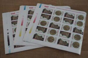 2001 Rumänien; 500 Serien Einweihung in Paaren, **/MNH, MiNr. 5626/27, ME 750,-
