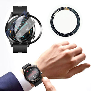 For Huawei Watch GT2 46mm SmartWatch Curved Film Full Cover Screen Protector 2pc