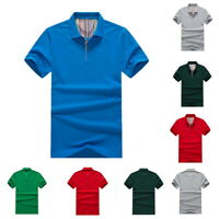 Mens Classic Short Sleeve Basic Tee Summer  Casual T-Shirt Solid Shirts Tops