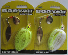 2 - BOOYAH   Tandem Blade Spinnerbait - 3/8 oz. - Two Popular Colors