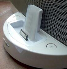 Bose SoundDock Original Series 1 Docking Adaptor Universal Cradle Upgrade WHITE