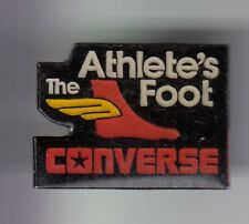 RARE PINS PIN'S .. SPORT CHAUSSURE SHOES CONVERSE THE ATHLETE' S FOOT STORE  ~DX