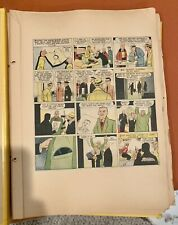VINTAGE 1958 DICK TRACY SUNDAY COLOR COMICS