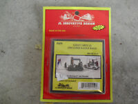 JL Innovative Design HO Scale 1:87 Golf Carts and Golf Bags NIP 459