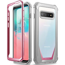 Samsung Galaxy S10 Case,Poetic Hybrid Shockproof Bumper Protective Cover Pink