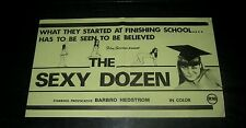 Original SEXY DOZEN New Zealand daybill BARBRO HEDSTRON