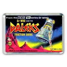 RETRO 60's -DOCTOR WHO -FRICTION DRIVE DALEK  ADVERT JUMBO FRIDGE MAGNET