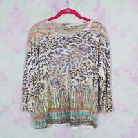 Jess /& Jane Womens Paris Mineral Washed Asymmetrical Cotton Tunic tOP