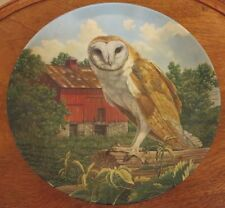 The Barn Owl - Jim Beaudoin Knowles Collector Plate