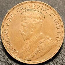 #398# 1916 CANADIAN COINS LARGE CENT KING George V