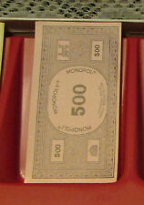 French language monopoly  game (37) 500 money replacement parts or craft idea