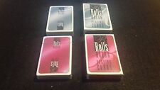 2 Boxed & Sealed Decks Rolls Razor Promotional Playing Cards