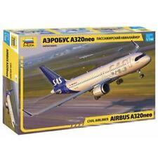 Zvezda 7037 1/144 Airbus A320 Neo Plastic Model Kit