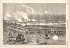 General Sherman's attack on the enemy near Marietta, Georgia - Civil War - 1864