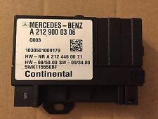 OEM MERCEDES W212 A2129000306 FUEL GAZ PUMP CONTROL MODULE  R350 11 12