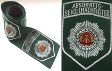 10 DDR Polizei Police Patch Aufnäher ABV / 10 Abzeichen für Uniform Hemd Eccuson