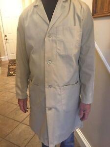 Unisex 1st Quality TAN Lab Coats Size: XS Price 10.00 ea