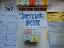 RACE NIGHT TICKETS SET 30 PER RUNNER -POSTER-PAPERWORK-MAKES IT EASY TO USE