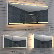 Aluminium LED Kalt Warm weiß Wand Hänge Bad spiegel schrank Kosmetikspiegel