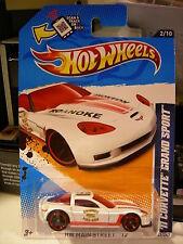 Hot Wheels '11 Corvette Grand Sport HW Main Street Roanoke Fire EMS White