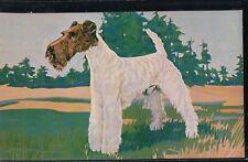 "2BitPostcard-A213 ""Fox Terrier"" Champion Quayside Robinson Lad"