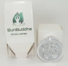 2 x Sunbhudda 5W E27 5 LED Plant Grow Lamp Bulb for Home Flowering Hydro UK