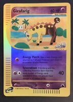 NM Girafarig 58/144 Reverse HOLO Skyridge Pokemon e-Reader Card