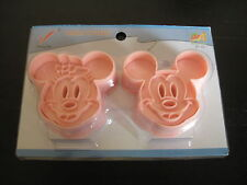 DISNEY MICKEY AND MINNIE MOUSE COOKIE CUTTER MOLD CUPCAKE BIRTHDAY PARTY FAVOR