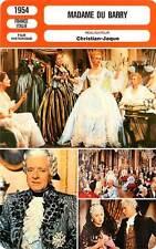 FICHE CINEMA : MADAME DU BARRY - Carol,Ivernel,Christian-Jaque 1954