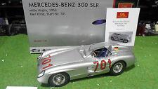 MERCEDES-BENZ 300 SLR 1955 KLING MILLE MIGLIA 1/18 CMC M118 coche miniatura