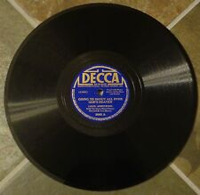 """78 By Louis Armstrong, """"Going To Shout All Over God's Heaven"""" on Decca"""