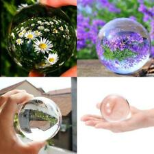 Crystal Photography Lens Ball Photo Prop Background 80mm Lensball Home Decor