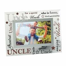 "Uncle Gift - Uncle glass picture photo frame 6""x4"" FG573U"