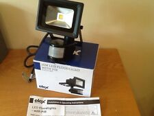 led floodlight superior quality,Elex 10 watt with sensor,cool white,rrp £29