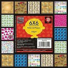 """Little Miss B Sample Papers (10 sheets x 6x6"""")"""