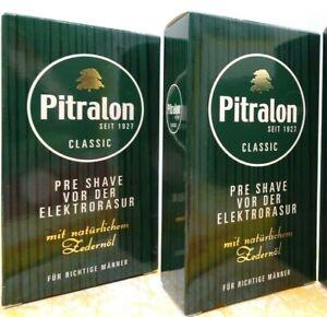 PITRALON  Classic  Pre Shave  PRESHAVE >   2 x 100 ml